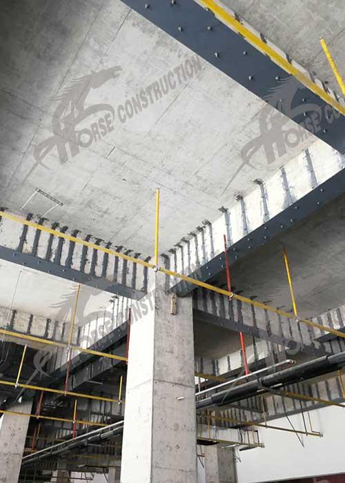 3.外贴钢板加固技术