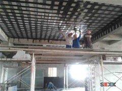 工业厂房楼板承重加固