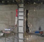 火灾后梁柱修复